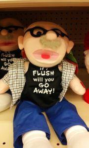 IF I FLUSH - BIG LOTS